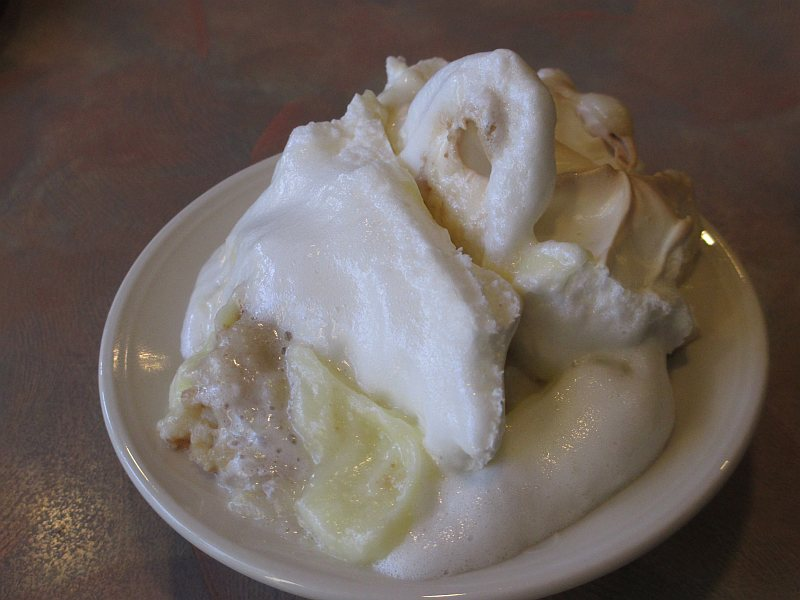 Banana Pudding at Grayson Landing Restaurant