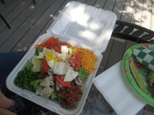 Cafe Chas Chef Salad