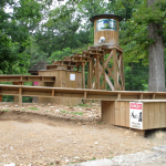 Carter Caves Gem Mine, in front of the Welcome Center/Gift Shop