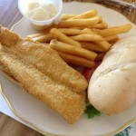 Fried Catfish Sandwich at Clifty Creek Restaurant (Pennyrile Forest State Resort Park)