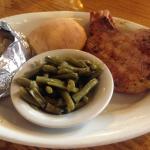 Shady Cliff Restaurant Smoked Pork Chop