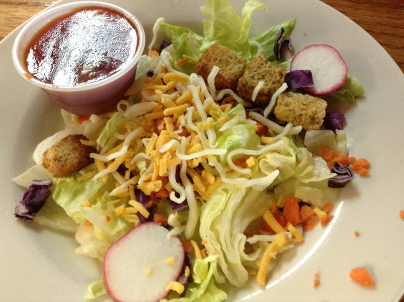 Shady Cliff Salad with French Dressing