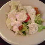 Side Salad with Blue Cheese Dressing