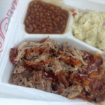 Coppertop (Fredonia) Bar-B-Q Pork Dinner