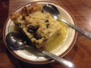 Bread Pudding at the Feed Mill (Morganfield, Ky)