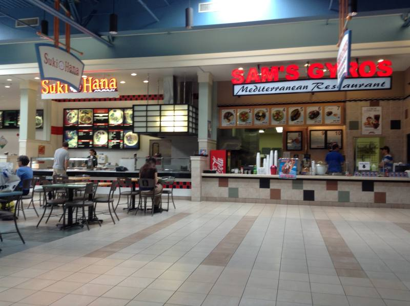 Sam's Gyros in the Bowling Green Mall