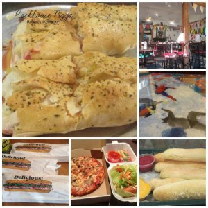 Rockhouse Pizza Collage