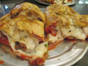Stromboli from Rockhouse Pizza in Robards, Ky.
