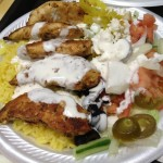 Sam's Gyros Chicken Plate
