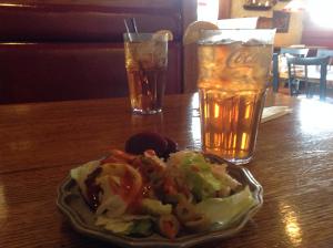 The Majestic Salads and Iced Tea