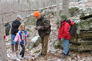 Tracking and Woods Lore Weekend at Carter Caves