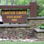 Carter Caves State Resort Park Sign