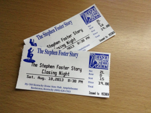 The Stephen Foster Story Tickets