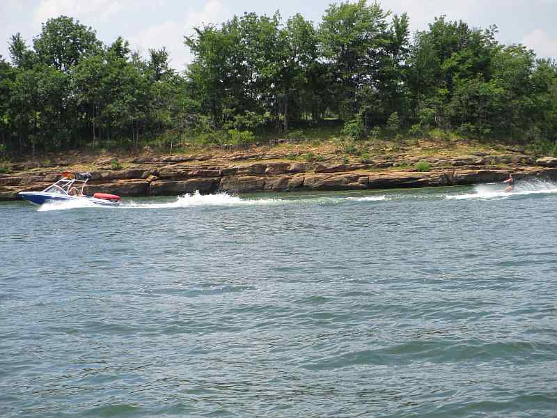Water Skiing on Rough River Lake