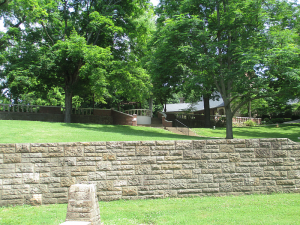 View of the Museum and Nature Center from Behind the John James Audubon State Park Museum and Nature Center