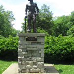 The Worker Statue at John James Audubon State Park