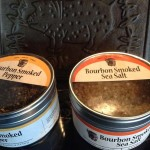 Bourbon Smoked Sea Salt and Pepper from Bourbon Barrel Foods in Louisville, Kentucky