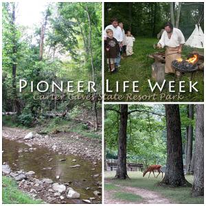 Pioneer Life Week at Carter Caves State Resort Park