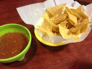 Mi Ranchito Salsa and Chips