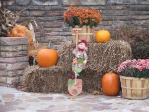 Pine Mountain State Resort Park Lodge Autumn Display
