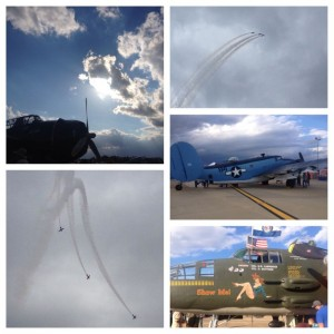 Owensboro Air Show Collage