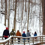 Winter Hike at Pine Mountain State Resort Park