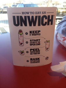 How to Eat and Unwich