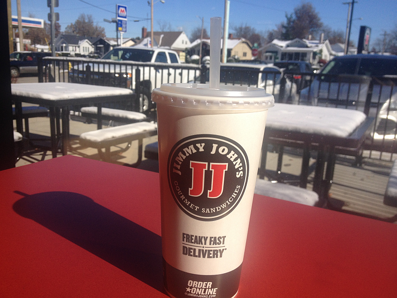 Jimmy John's Sweet Tea