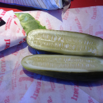 Jimmy John's Unwich and Pickle
