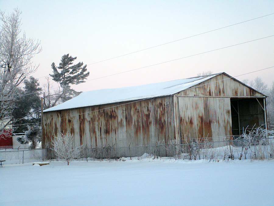 Kentucky Shed Winter 2015