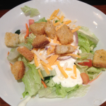 LongHorn Steakhouse Salad with Bue Cheese and Croutons