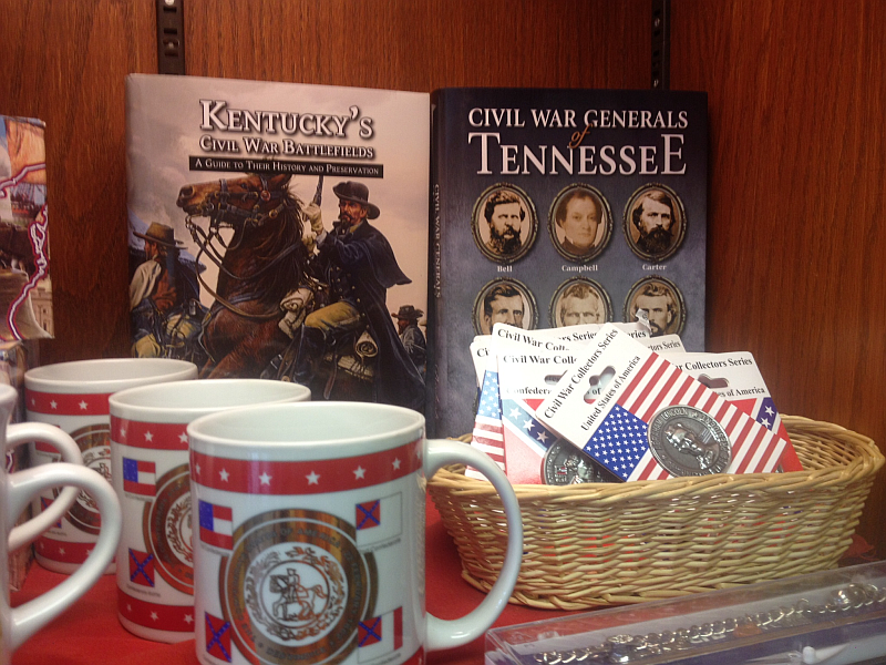 Civil War Books and Merch at The Homeplace