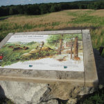 Inromative Plaque at the Elk & Bison Prairie, LBL