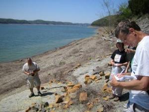 Geocaching at Lake Cumberland
