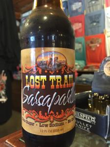 Lost Trail Sarsaparilla, Vintage Soft Drinks at The Hitching Post