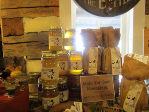 Moonshine Mixers and Moonshine Jelly at The Hitching Post