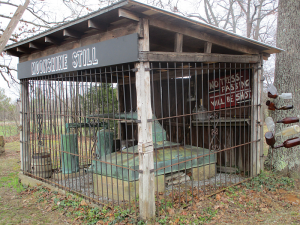 Moonshine Still at The Hitching Post & Old Country Store
