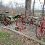 Old Wagons at The Hitching Post & Old Country Store
