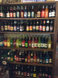Vintage Soda at The Hitching Post & Old Country Store.
