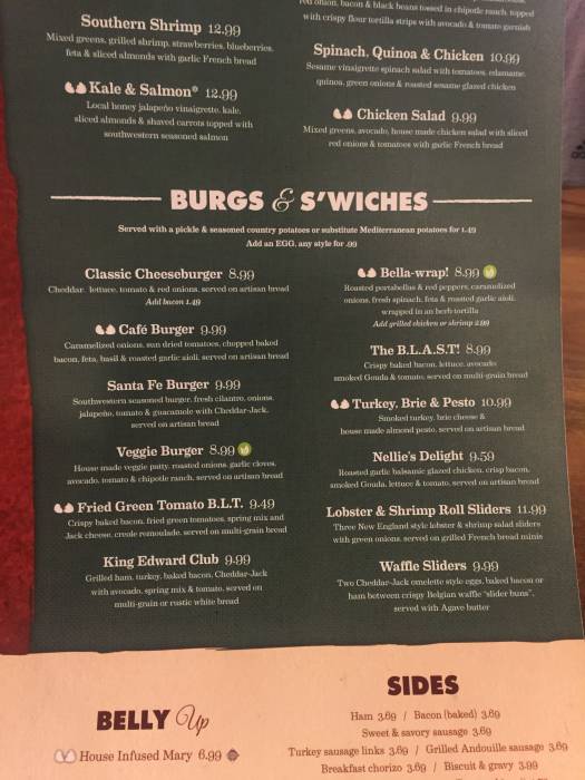 Another Broken Egg Cafe Menu And Prices