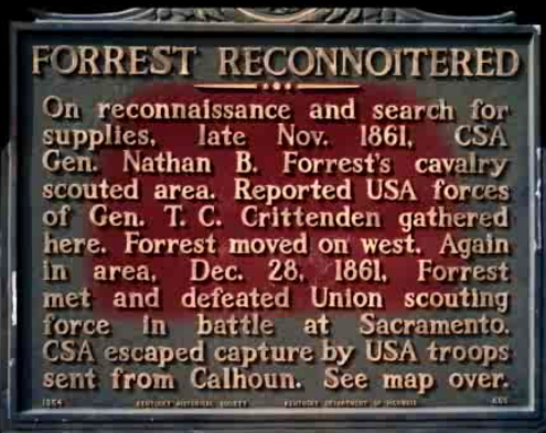 Battle of Sacramento Plaque