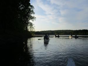 Canoeing on Honker Lake (Land Between the Lakes)