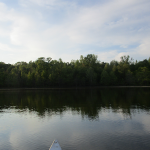 Canoeing on Honker Lake