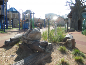 Lazy Dayz, Smothers Park's children's playground.