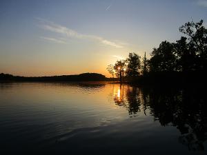 Sunset on Honker Lake