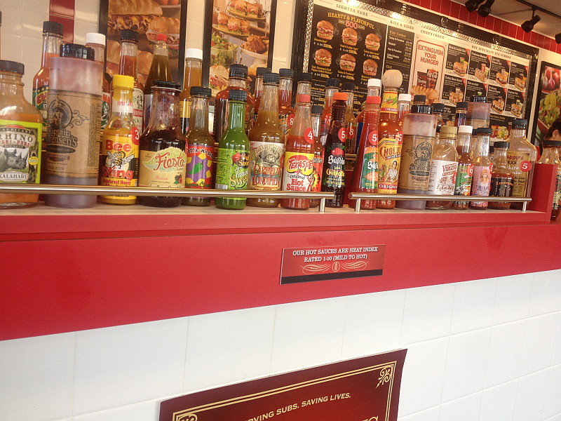 Firehouse Subs Hot Sauces