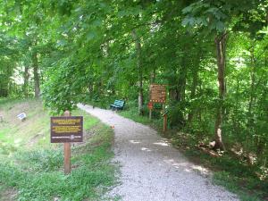John James Audubon State Park Hiking Trail