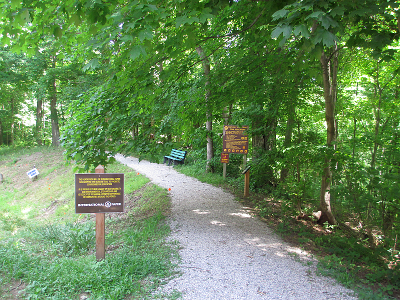 John James Audubon State Park Hiking Trail