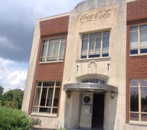 Old Coca Cola Building in Paducah