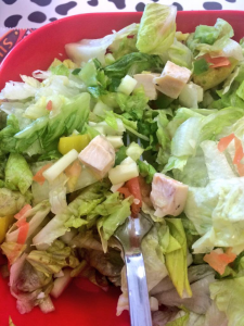 Firehouse Salad with Grilled Chicken
